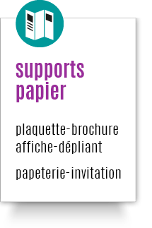 supports papier